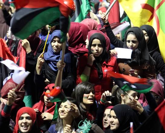 Libyans celebrate Revolt anniversary